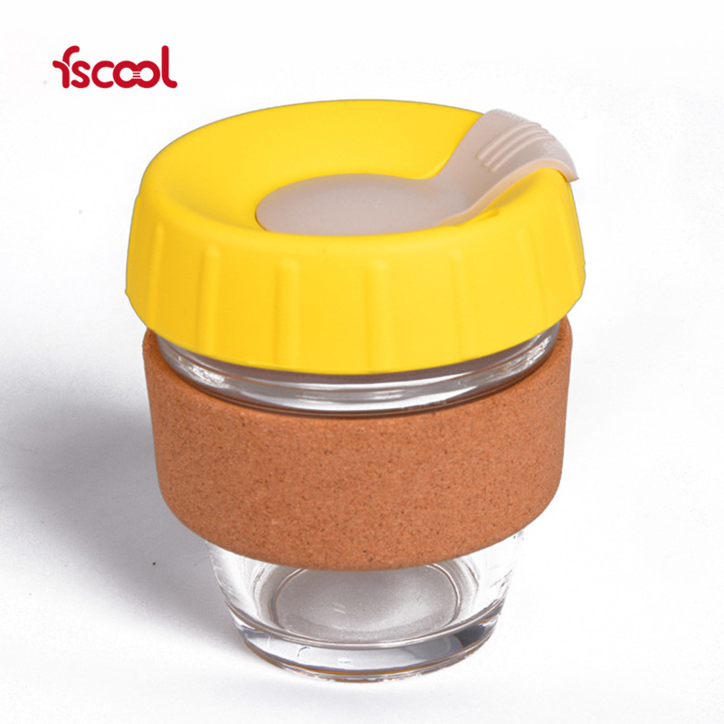 二代新款咖啡杯_防烫随手玻璃咖啡杯_fscool硅胶套便携咖啡杯厂家(图15)